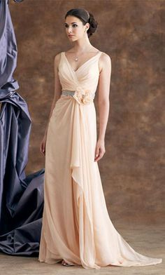 Even though this is a bridesmaids dress still is a beautiful dress regardless.