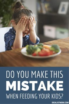 When feeding your kids dinner, do you make this parenting mistake? It's so easy to do, especially with picky eaters! Find out if you're doing it and get tips and advice for what to do instead.