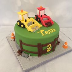 Diggers cake