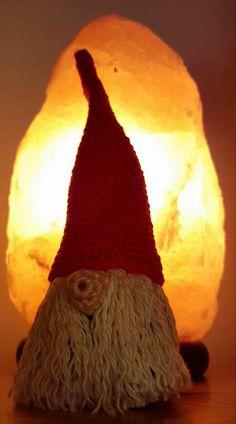 Christmas gnome Christmas Gnome, Gnomes, Table Lamp, Home Decor, Amigurumi, Homemade Home Decor, Table Lamps, Interior Design, Home Interiors