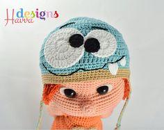 PATRÓN Tommy con ropa y sombrero de Monster por HavvaDesigns