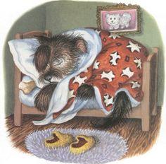 Garth Williams (4-16-1912 to 5-8-1996) the illustrator of classic children's books like Charlotte's Web, Stuart Little, Little House on the Prairie, and Mister Dog (seen here)