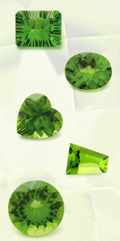 Peridot, the birthstone for August, is harder than metal but softer than many gemstones. Store peridot jewelry with care to avoid scratches and protect from blows. Because peridot is sensitive to rapid changes in temperature, never have it steam cleaned and avoid ultrasonics. Clean with mild dish soap: use a toothbrush to scrub behind the stone where dust can collect.