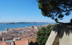 Miradouro do Castelo de São Jorge, Lisboa, The castle crowns Lisbon's tallest hill, and therefore offers the most complete view of the city. For the views alone, it's worth visiting the monument.
