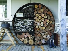 The Wood Stacker by Unearthed.