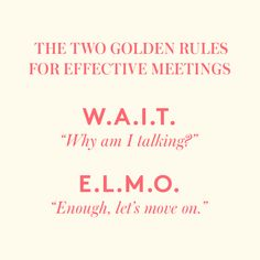 A seasoned executive coach tells us how to make our meetings less frequent and more efficient.