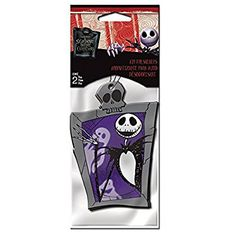 Nightmare Before Christmas Jack Skellington Graveyard Disney Cartoon Character Vehicle Car Truck SUV Home Office Garage 2 Pack Air Freshener
