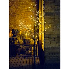 Fashionlite 6FT 96L LED Light Decorative Xmas Snow Tree,Home/Party/Festival/Christmas/Indoor and Outdoor Use Gift SNWL06 >>> Final call for this special discount  : Christmas Home Decor