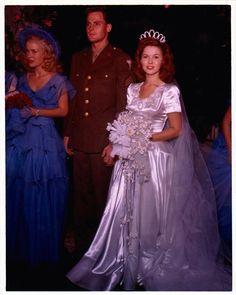 1945 Shirley Temple Weds John Agar