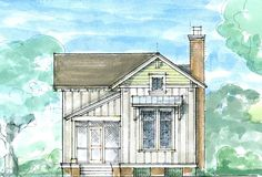 Color rendering of cabin design by C Peeper
