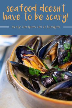 Make mussels, sardines, squid and more with these easy and healthy recipes. They'll step up your dinner game big time.