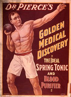 Ineffective Wall Art - Photograph - Dr Pierces Spring Tonic And Blood by Science Source