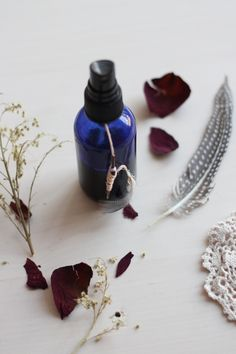 DIY moisturizing hair mist