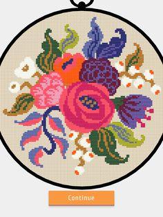 Cross Stitch Embroidery, Cross Stitch Patterns, Stitch App, Crossstitch, Needlework, Cushions, Kids Rugs, Knitting, Crafts