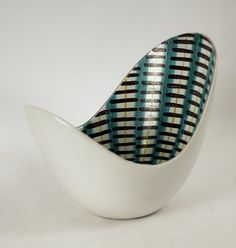 "mid-century bowl by Stig Lindberg  (I've a softspot for his ""poppy"" creations)"