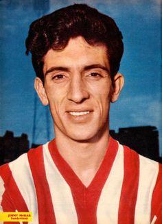 July Sunderland half back Jim McNab, at Roker Park. Sunderland Football, Sunderland Afc, Giraffe Pictures, 80s Kids, Home Team, Black Cats, Image, Homeland, 1960s