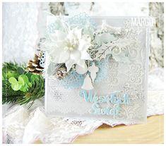 Blog Craft Passion: Zimowa /Frosty card