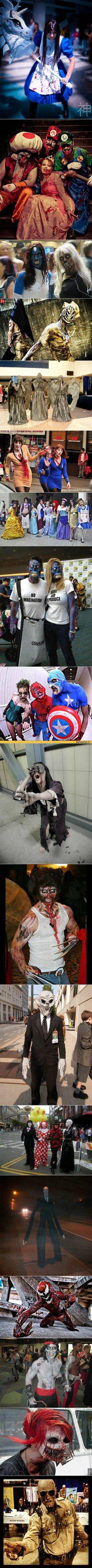 Zombified cosplay