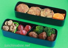 Adult Bento Box lunches :D  All those Japan girls check out this blog