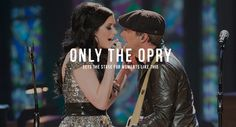 On the Opry Homepage!!