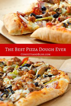 Hands down the best pizza dough recipe ever! With a few simple ingredients you can make a delicious restaurant-quality pizza dough. Best Pizza Dough Recipe, Crust Recipe, Recipe Tasty, Dough Pizza, Italian Pizza Dough Recipe, Flat Bread Dough Recipe, Gozleme, Pizza Recipes, Cooking Recipes