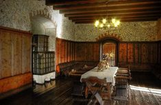 The Real Site of Count Orlok's Castle Medieval World, Medieval Castle, Medieval Princess, Small Dining Area, Castle In The Sky, Mansions, Inspiration, Keys, Interiors