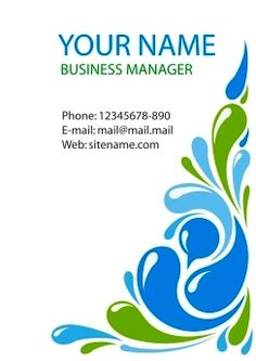 Download desain Kartu Nama, business card template, corel draw vector, masbadar.com