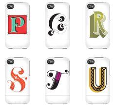 Daily Drop Cap Phone Cases via Design*Sponge