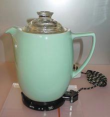 Coffee Percolator Stovetop Blue #coffeeroaster #CoffeePercolator