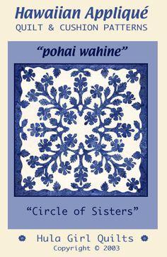 Beautiful Circle of Sisters Hawaiian quilt