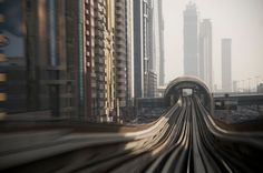 Dubai Metro; Dubai, UAE 2012, by AppuruPai on Flickr