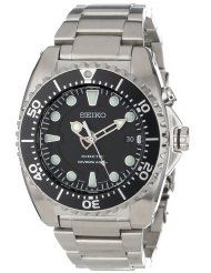 Seiko Men's Kinetic Dive Silver-Tone Watch – The full details - The House Of The Good Old Classic Watches Plus Sport Watches, Watches For Men, Affordable Watches, Seiko Men, Seiko Watches, Casio Watch, Quartz, Stainless Steel, Silver