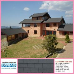 Tegola Premium Rectangular imported from Italy.  Whatever design, tegola enhance beauty & increase your property value, essentially you are investing for future, 20 years from now still protecting you better.  Tegola roof for life.