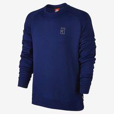 NIKECOURT FLEECE CREW Sweat-shirt pour Homme  Nike Tennis ATP
