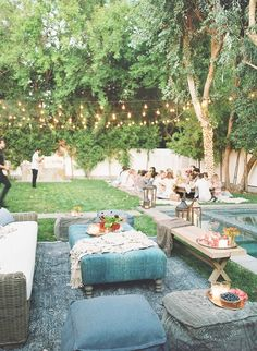 """I love family-style dinners, as it promotes amazing conversation and interaction between the guests,"" says Vorce. ""For evening soirées, beautiful lighting and tons of candlelight are key...."