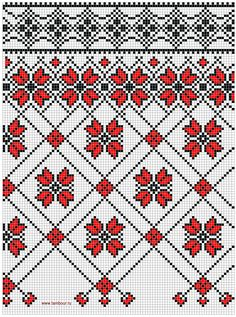 Folk Embroidery, Embroidery Fonts, Cross Stitch Embroidery, Embroidery Patterns, Cross Stitch Patterns, Knitting Charts, Knitting Patterns, Palestinian Embroidery, Tapestry Crochet