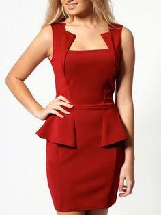 Elegance Show Slim Sleeveless Dress LAVELIQ