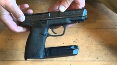A quick demonstration on Field stripping the Smith & Wesson M&P 40 by dry firing. M&p Shield 9mm, 40 S&w, Love Gun, You Magazine, Smith Wesson, Will Smith, Firearms, Hand Guns, Hunting