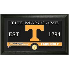 "Tennessee Volunteers Highland Mint 12"" x 20"" Man Cave Panoramic Photomint - $47.99"