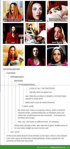 Bella is the problem, not Kristen Stewart