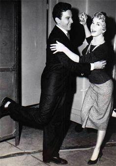 Doris Day and Cameron Mitchell
