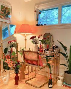Bedroom Crafts, Room Ideas Bedroom, Bedroom Decor, Dorm Design, House Design, Interior Design, 3d Design, 1st Apartment, Pretty Room