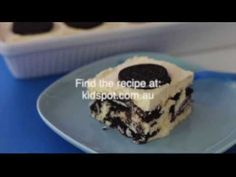 How to make 3 ingredient Oreo dessert recipe Oreo Dessert Recipes, Desserts, Easy Dinner Recipes, Great Recipes, Oreo Cookies, Cooking With Kids, 3 Ingredients, Yummy Cakes, Good Food