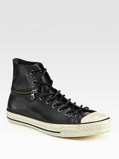 Converse by John Varvatos Chuck Taylor All Star Leather Zip Sneaker