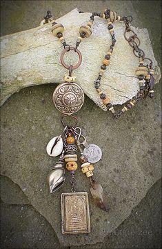 Shaman Amulet Necklace   Maggie Zee via TitleFx   Flickr