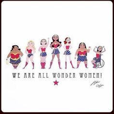 we are all wonder woman.
