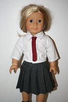 Arts and Crafts for your American Girl Doll: Free Sewing Patterns