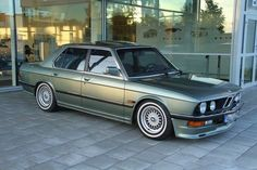 Exactly as the photograph but with the addition of a spoiler in the boot lid. Fantastic to drive, but unfortunately I was not able to pass a petrol station without paying a visit. Not for the impecunious. E28 Bmw, Bmw Alpina, Bmw Compact, Bmw Old, Fox Body Mustang, Bmw Classic Cars, Bmw 5 Series, Retro Cars, Bmw Cars