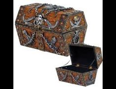 Image result for pirate treasure chest