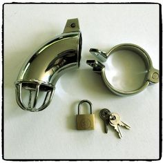 Solid Steel Chastity Device – Lord Kink Solid Steel Chastity Device R 615.00  The solid construction of this chastity device is ideal for those who want a little less access offering chastity and CBT enthusiasts the best of both worlds.